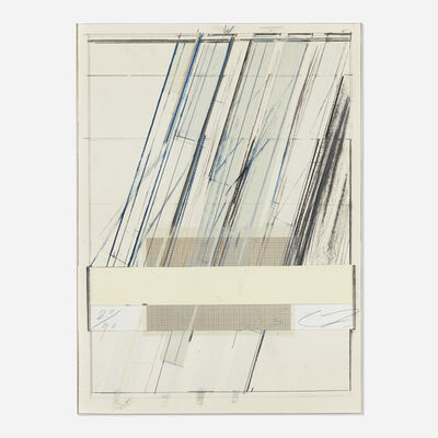 Cy Twombly, 'Untitled (from the Hommage a Picasso portfolio)', 1973