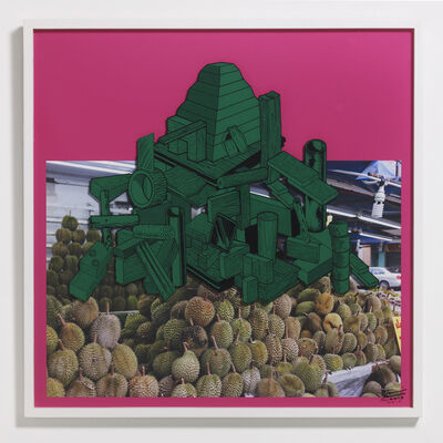 Teppei Kaneuji, 'Games, Dance and the Constructions (Singapore) #10-A', 2014