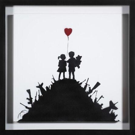 Banksy, 'Kids On Guns', 2003