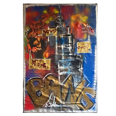 Domingo Zapata, 'King Kong on Empire State Building w BANG', 2012
