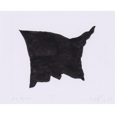 Robert Longo, 'Black Flag #2', 1981