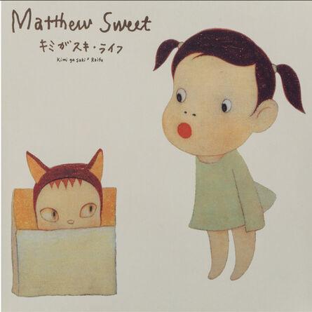 Yoshitomo Nara, 'Yoshitomo Nara X Matthew Sweet Kimi Ga Suki * Raifu (Red Edition)', 2019