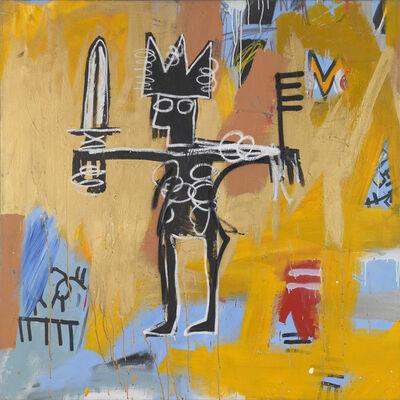 Jean-Michel Basquiat, 'Untitled (Julius Caesar on Gold)', 1981