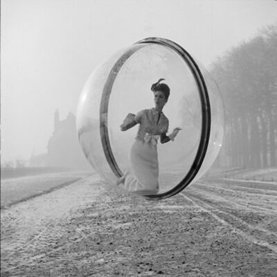 Melvin Sokolsky, 'Delvaux Puzzled', 1963
