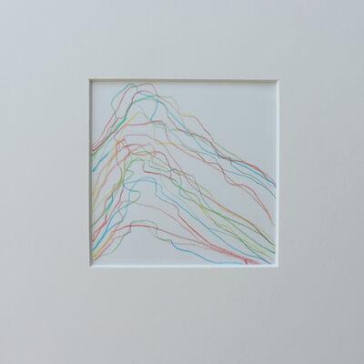 Vera Molnar, 'Cycle STE. VICTOIRE au 5 crayons', 2001