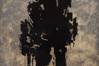 An Affair with Black: Abstract Expressionism by Helen Bellaver