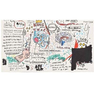 Jean-Michel Basquiat, 'King Brand', 1982-1983