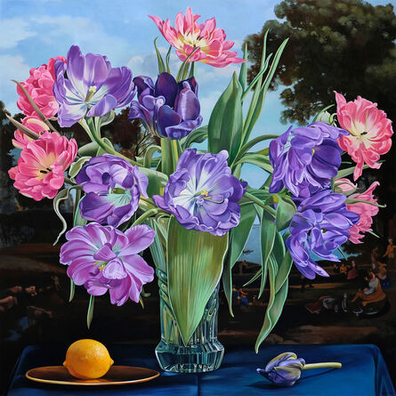 Sherrie Wolf, 'Parrot Tulip with Lemon After Claude', 2020