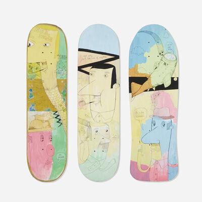 James Kirkpatrick, 'skateboard decks, set of three', ca. 2005