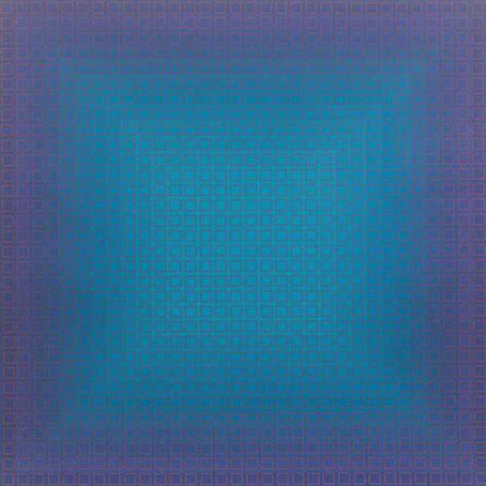 Julian Stanczak, 'Blue Orange, from Filtration Series', 1977