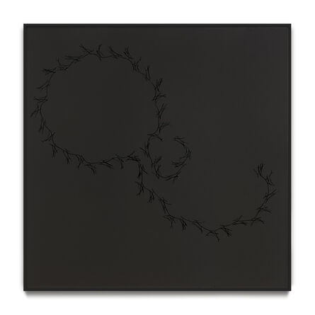 Anri Sala, 'Lines on black (Höller, Tiravanija, Rehberger )', 2016