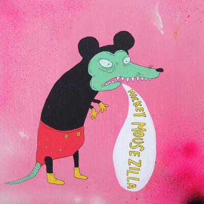 Laurina Paperina, 'Mickey Mousezilla', 2008