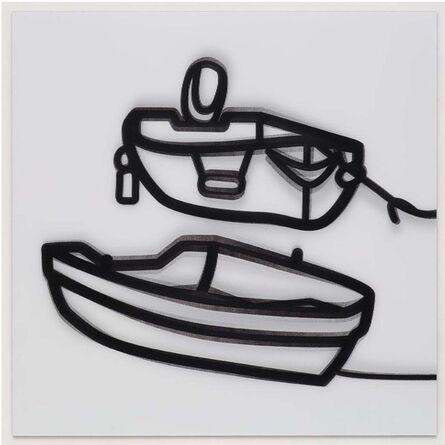 Julian Opie, 'Nature 2 Boats 2', 2015