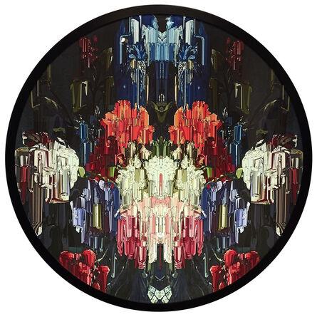 Alexis Mata, 'Ejercicio de luz y caleidoscopio III', 2021
