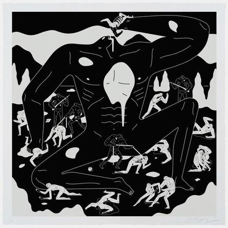 Cleon Peterson, 'Punishment (BLACK)', 2021