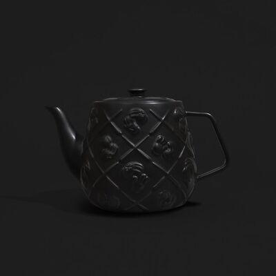 KAWS, 'Kaws Teapot - Black', 2021