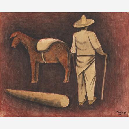 Rufino Tamayo, 'Hombre con Mula', 1940