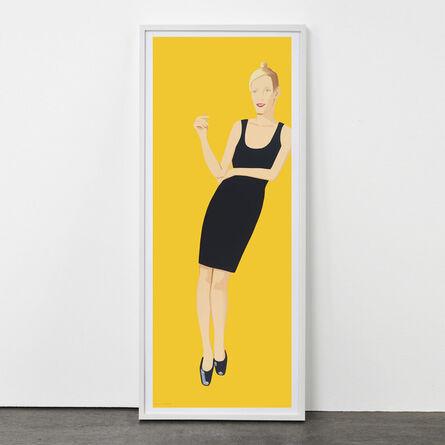 Alex Katz, 'Black Dress (Oona)', 2015