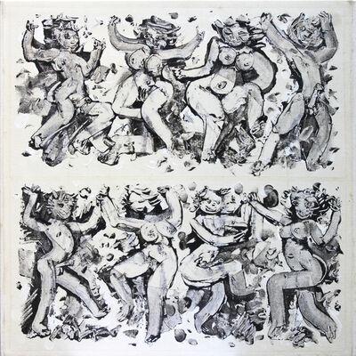 "Ernest Briggs, 'Untitled (""Dancing Girls"")', 1960's"