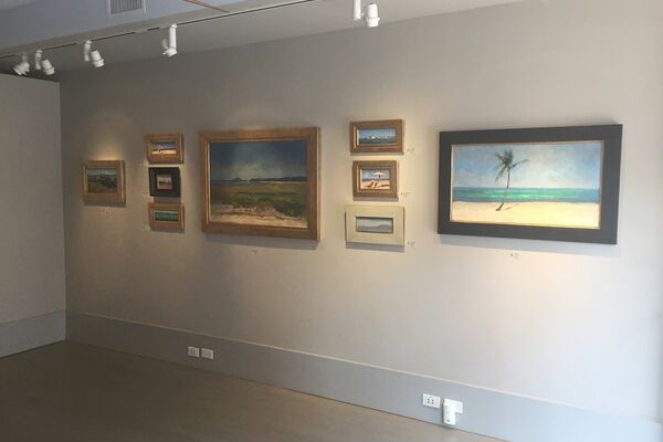 Nelson H White Solo Show Grenning Gallery Artsy