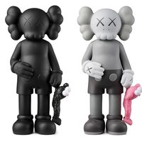 KAWS, 'KAWS SHARE Set of 2 (KAWS share companion black & grey)', 2020
