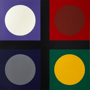 Poul Gernes, 'Untitled (tic tac toe painting)', 1967