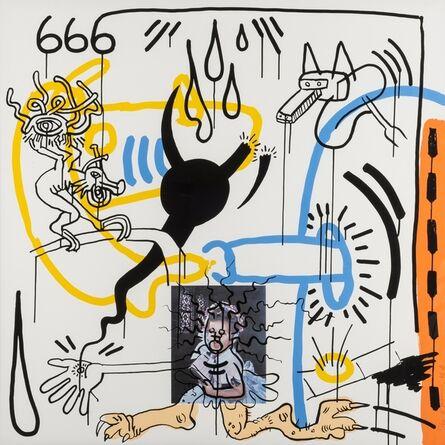 Keith Haring, 'APOCALYPSE (#8) (LITTMANN P. 106)', 1988