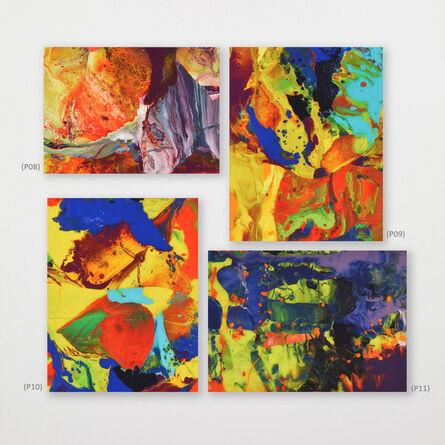 Gerhard Richter, 'Ifrit (P8); Bagdad (P9); Bagdad (P10); Aladin (P11)', 2014