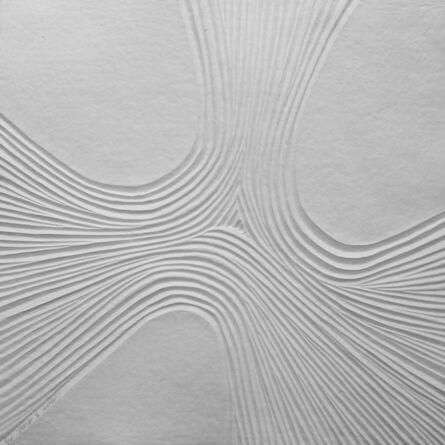Bernard Alligand, 'Delta 1 - aquaprint on heavy handmade paper', 2017