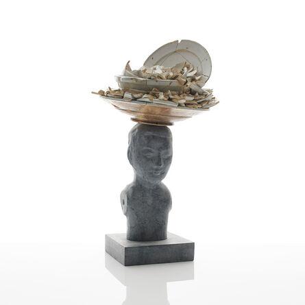 Bouke de Vries, 'Bronze Bust I', 2018