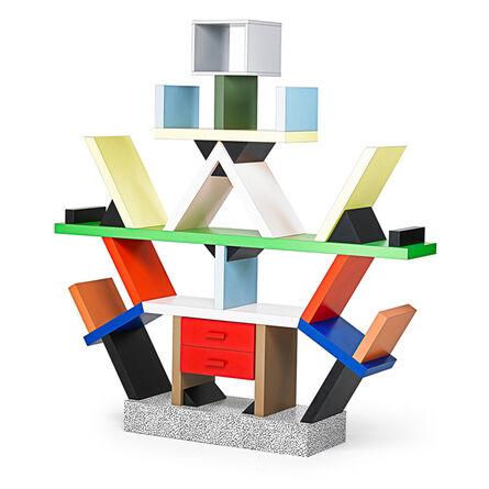 Ettore Sottsass, 'Carlton Bookcase, Italy', 1981