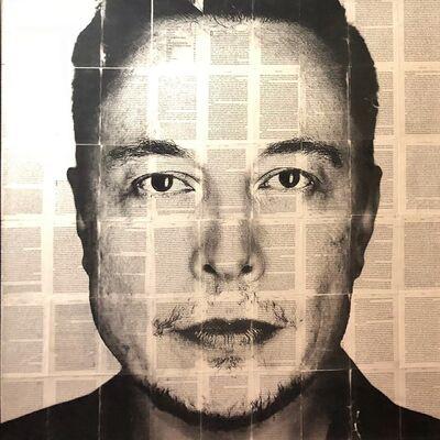 Mike Saijo, 'Elon Musk', ca. 2017