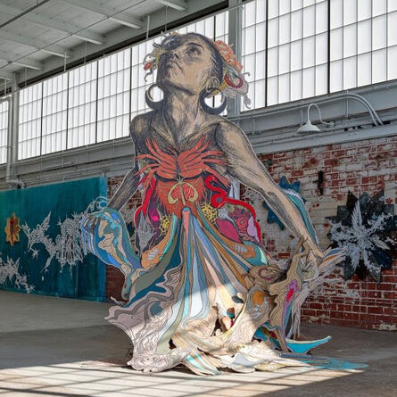 Swoon, 'Thalassa: From Seven Contemplations', 2014