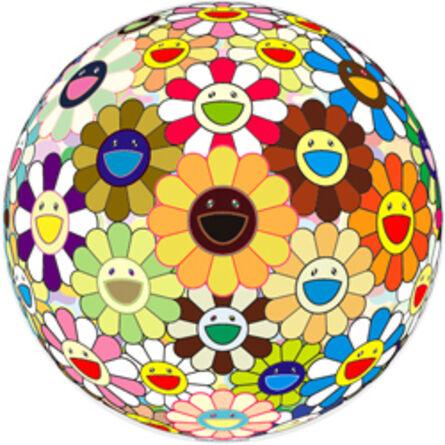 Takashi Murakami, 'Flowerball (3-D) Sunflower', 2011