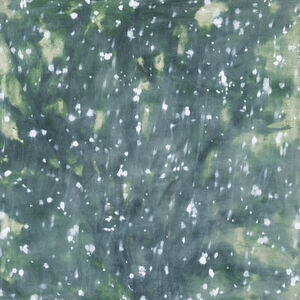 Isabel Bigelow, 'pine with snow', 2014