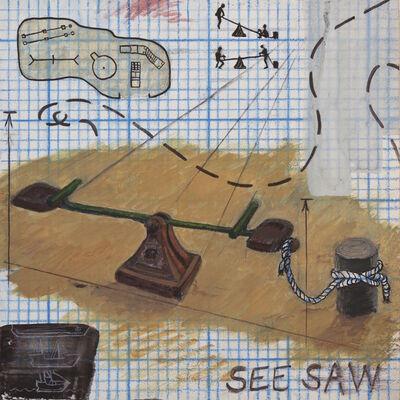 Daniel Oliva, 'See Saw', 2018