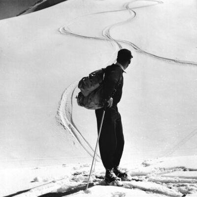 Toni Frissell, 'Skier, Switzerland', 1957