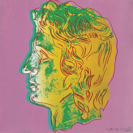 Andy Warhol, 'Alexander the Great: one plate', 1982