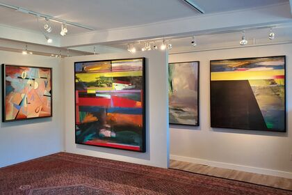 ABSTRACTION, THEN & NOW: Paintings by Jane Eccles