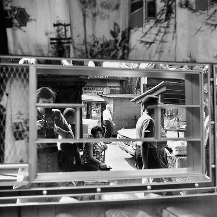 Vivian Maier, 'Self-portrait, Halsted Street, Chicago', 1961