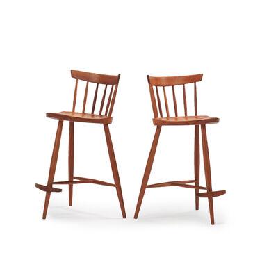 Mira Nakashima, 'Pair of Mira Chairs', 1991