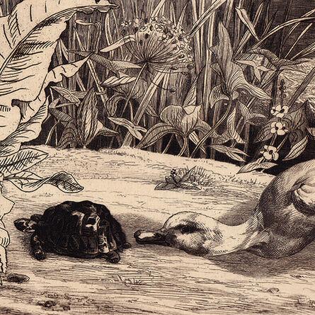 "Félix Bracquemond, '""L'Inconnu (Béraldi 174)""', ca. 1860"
