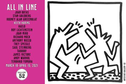 ALL IN LINE: original drawings, prints & lithos