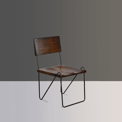 Pierre Jeanneret, 'PSI-SI-06-A | Rare Chair', ca. 1953-1954