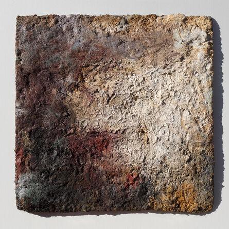 Orazio De Gennaro, 'Terra Bruciata (Scorched Earth) - Small Abstract Painting with Earth Colors', 2006