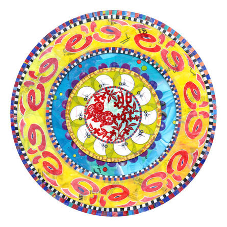 Virginia Fleck, 'Power Flower Mandala', 2013