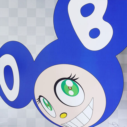 Takashi Murakami, 'And then and then and then and then and then (Blue)', 2011