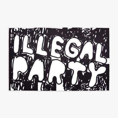 Stefan Marx, 'ILLEGAL PARTY (BLACK)', 2021