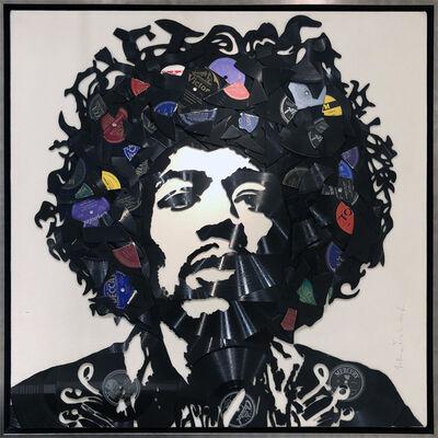 Mr. Brainwash, 'Jimi Hendrix', 2016