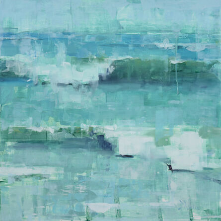 Jacob Dhein, 'Wave Study in Turquoise', 2015